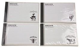 Recipe Card Bundle - 4 Sets of 36 Cards - Farm Fresh, Farmers Market, Ma... - $23.34