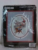Janlynn Humpty Dumpty #80-77 Counted Cross Stitch Kit Complete New - $11.97