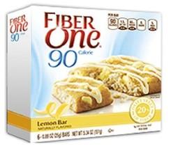 Fiber One 90 Calorie Lemon Bars - $9.85