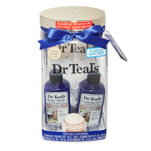 Dr Teal's 5-Piece Soothing Coconut Oil Bath and Body Gift Set Multicolor - $23.50