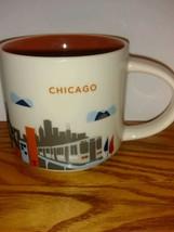You Are Here Starbucks Coffee Mug Chicago Monorail Navy Pier Ferris Whee... - $14.85
