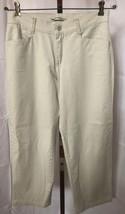 Lee Women's Relaxed Straight Leg Khaki Pants Size 8 Petite (30 x 27.5) - $13.95