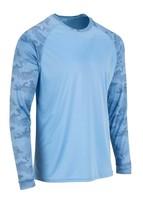Sun Protection Long Sleeve Dri Fit Blue sun shirt Camo Sleeve base layer SPF 50+ image 2