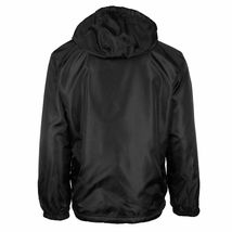Men's Reversible Water Resistant Fleece Lined Hooded Rain Jacket w/ Defect  2XL image 3