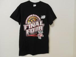 Mens T-shirt Small short sleeve 2015 NCAA Men's Final Four Indy Wisconsin Badger - $6.91