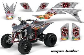 ATV Graphics Kit Quad Decal Sticker Wrap For Yamaha YFZ450 2004-2013 VEG... - $168.25