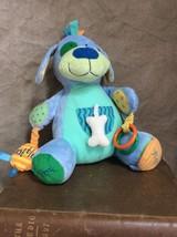 NEW PUPPY DOG Development ACTIVITY Plush Stuffed BABY Manhattan Toy PEEK... - $17.83