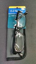 Foster Grant EZ Reader Fashion Reading Glasses w/ Case, Cartman, Black, +2.00 - $6.30
