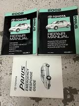 2002 Toyota Prius Service Réparation Atelier Manuel Set Avec Extra - $118.75
