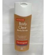 Neutrogena Body Clear Body Scrub Clean Clear Exfoliate 8.5 Ounce - $5.99