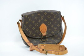 LOUIS VUITTON Monogram Saint Cloud GM Shoulder Bag M51242 LV Auth 8055 - $420.00