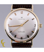 Hamilton Herren 14K Gelbgold Automatisch Uhr mit / Braun Lederband - $694.44