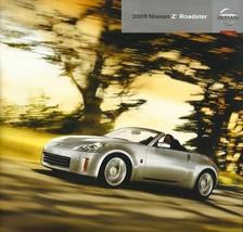 2009 Nissan Z ROADSTER sales brochure catalog US 09 370Z Touring - $10.00
