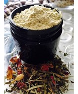Organic Ayurvedic Turmeric, Chickpea, Yellow clay  & Spices Facial Scrub... - $6.50