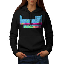 Periodic Table Print Sweatshirt Hoody Chemistry Women Hoodie - $21.99+