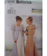 Pattern 6630 Regency Style, Edwardian  Multi Sizes 12,14,16 - $9.99