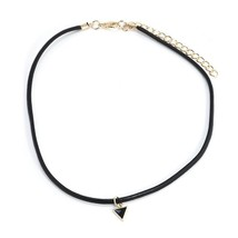 TINY TRIANGLE CHOKER NECKLACE   >> COMBINED SHIPPING <<  (11449) - $3.25