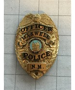Maxwell New Mexico Obsolete Police Badge Officer - $290.00