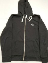 Express Men's Black Long Sleeve Hoodie Sweatshirt Medium Good Condition - $17.81