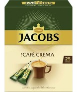 Jacobs CAFE CREMA SINGLE Portions -Made in Germany-FREE US SHIPPING - $10.88
