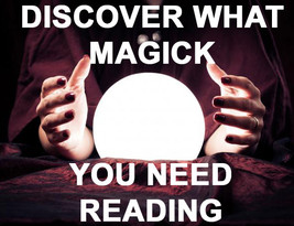 DISCOVER WHAT MAGICK YOU NEED READING PSYCHIC 97 yr old Witch Cassia4 Al... - $28.00