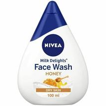 NIVEA Women Face Wash for Dry Skin, Milk Delights Honey, 100ml - $10.99