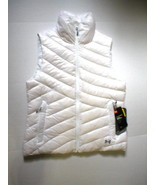 New Womens Under Armour Vest L White Down Warm Puff Infrared Storm NWT W... - $79.60