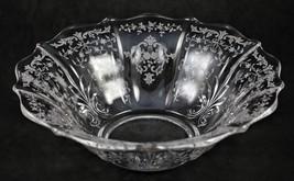 Navarre, Etch No. 327, 12 Inch, Flat, Flared Rim, No. 2496 Baroque, Bowl - $20.00