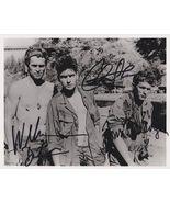 Charlie Sheen, Willem Dafoe & Tom Berenger Signed Autographed Platoon 8x... - $149.99
