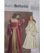 Pattern 4571 Sz 6-12 Middle Ages, Medieval, Renn Faire, Renaissance - $14.99