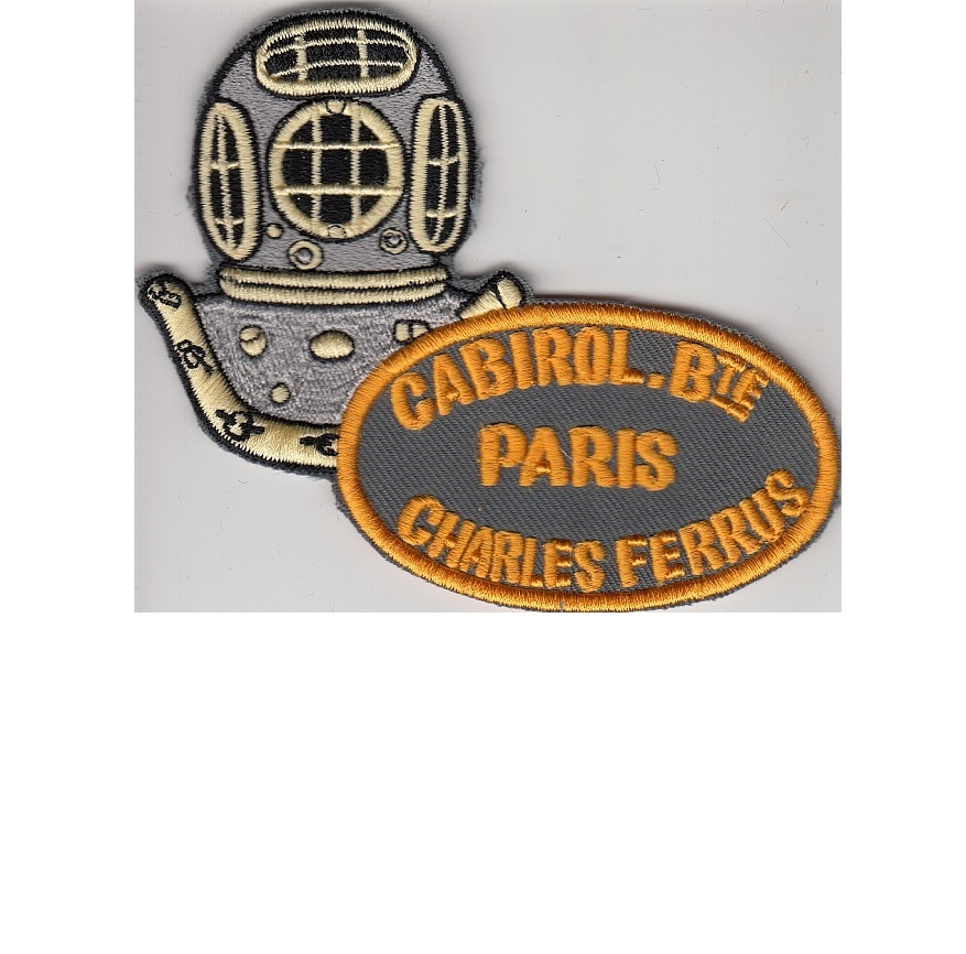Ng france specialit s m caniques r unis cabirol charles ferrus 12 bolts diving helmet paris grey