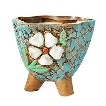 Koala Superstore Set of 2 Small Garden Pots Creative Flowerpots Succulen... - $22.65