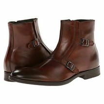 Men's Monks Double Buckle Strap Premium Quality Leather Superior Ankle B... - $159.99