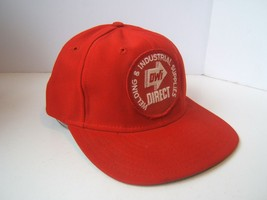 Welding Industrial Supplies Patch Hat Vintage Red Snapback Baseball Cap ...  - £17.52 1c6c355b75b