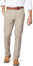 Dockers Men's Slim Fit Khaki Lux Cotton Stretch Pants 36x34 British Tan NEW - $27.70