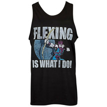 Hawkeye Flexing Is What I Do Tank Top Black - $26.98+