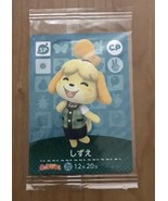 Animal Crossing amiibo card Nintendo Vol.1 Isabelle CP Forest Happy home... - $54.82