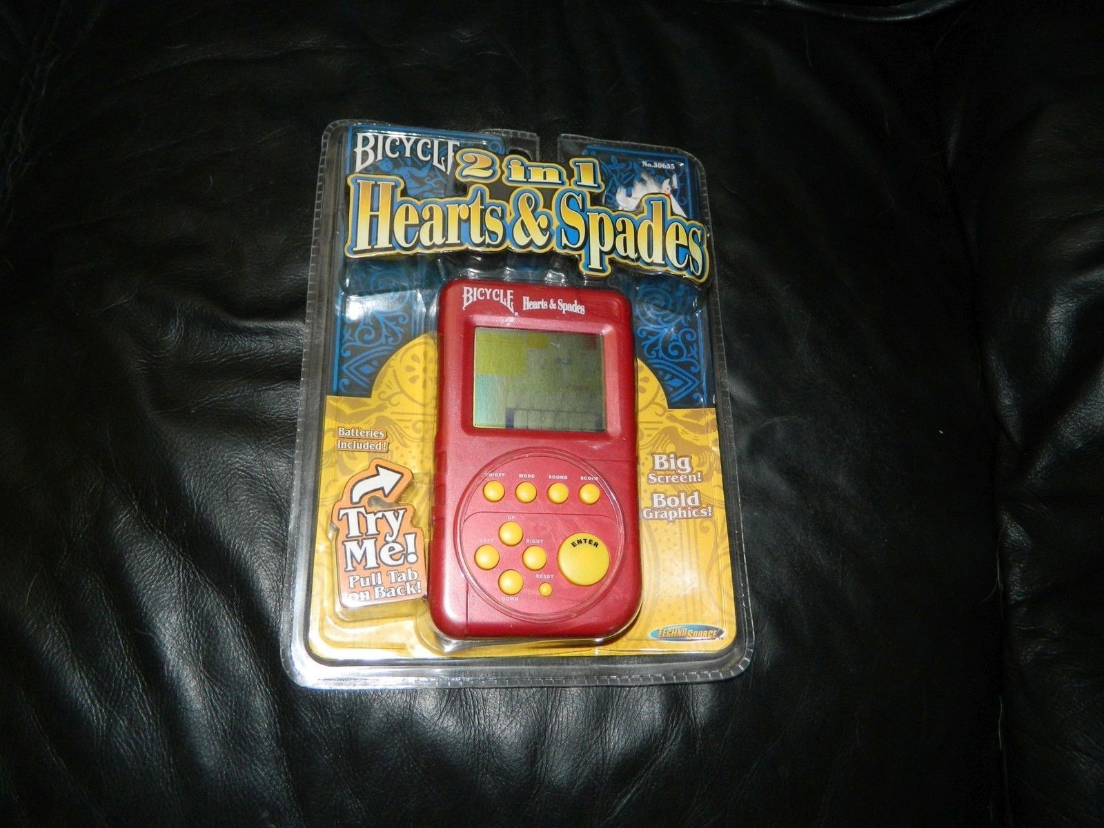 Bicycle 2 in 1 Hearts and Spades Electronic Game 2004 -Sealed - $35.00
