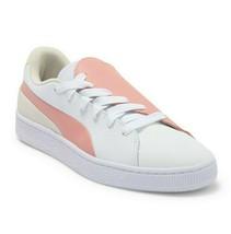 Puma Basket Crush Paris Peach Beige Side Lace 369598 01 Womens Sneakers - £38.84 GBP