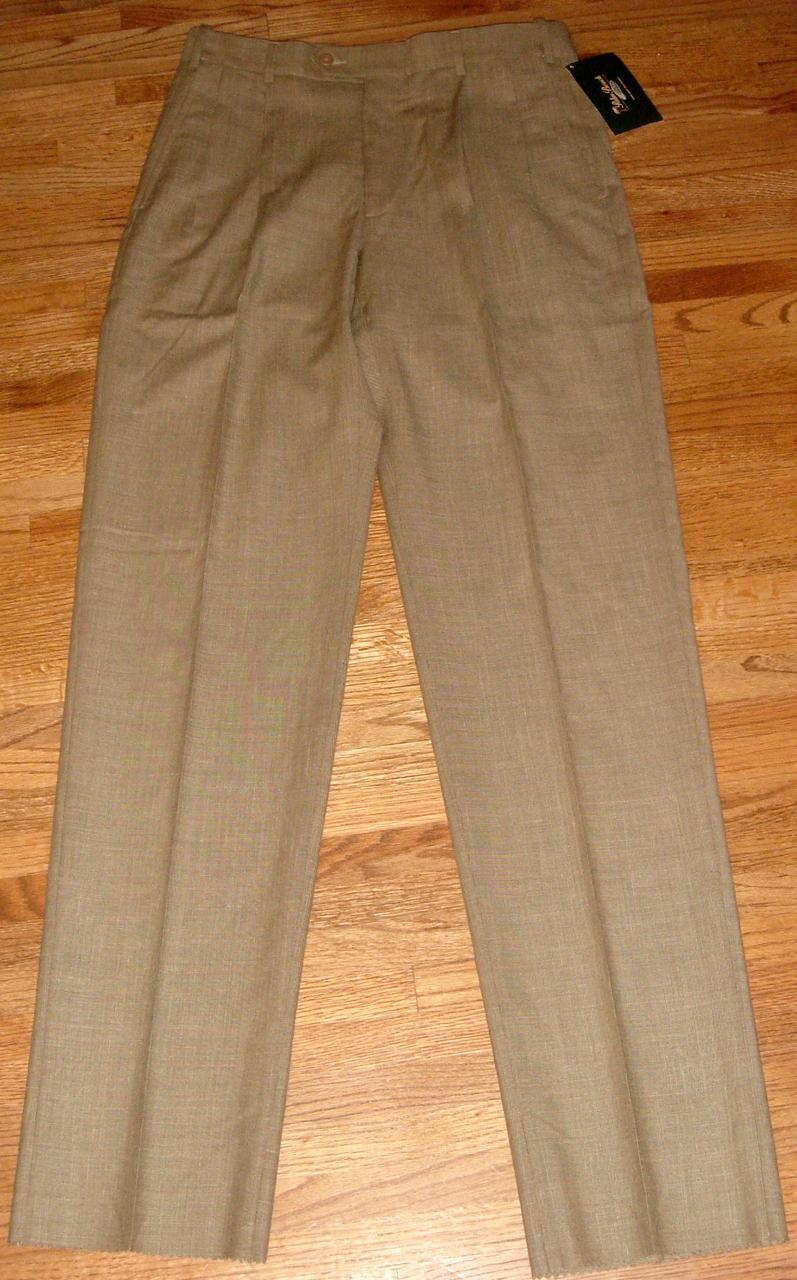 NWT Mens Palm Beach Reflex Pants SZ 34R ~ Unhemmed - $40.00