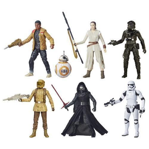 Image 0 of Star Wars VII The Black Series 6-Inch Action Figures Wave 3 Set of 6, Hasbro