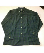 Tommy Hilfiger Youth Boy's Long Sleeve Button Up Shirt Size M Plaid Blue... - $39.59
