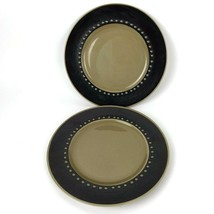 Vtg Franciscan Discovery Tahiti China 60s Tableware Lot of 2 Salad Plates - $21.73