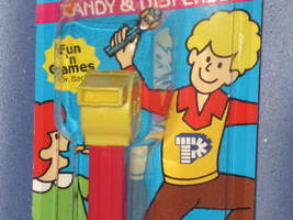 """Yellow Coach """"Whistle"""" Candy Dispenser by PEZ. - $7.00"""