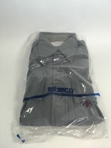 NEW Elbeco Tex-Trop Officer Guard Uniform Shirt Size 34 Gray Long Sleeve - $14.99