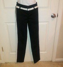Bongo Juniors Black/White Stretch Jeans Size 9 - $6.99