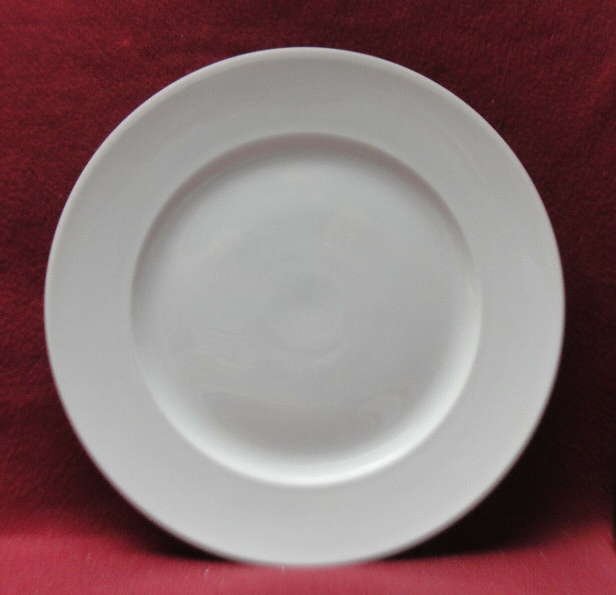 "Primary image for ROSENTHAL China - COMPOSITION WHITE Pattern - 10 1/2"" DINNER PLATE"