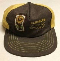 Vtg Interstate Seed Trucker Hat Made In The USA Patch Cap North Dakota D... - $16.82