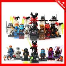 New lot of 16pcs Ninja Ninjago movie minifigure complete sets building t... - $17.63