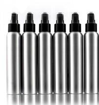Aluminum Empty Refillable Fine Mist Spray Bottles - 6 Pack (4 OZ) - $33.55